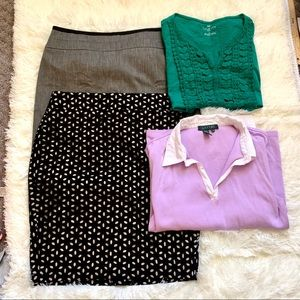 Excellent: Loft size 2 bundle 4 items!